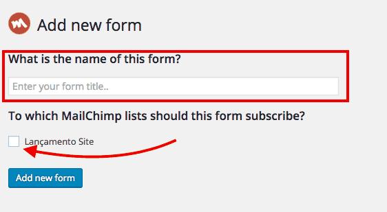 Capturas-de-Email-MailChimp-for-WordPress-Criação-de-Formulários