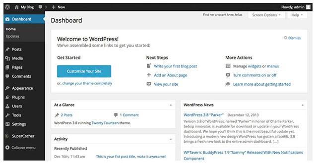 Hostgator WordPress Painel