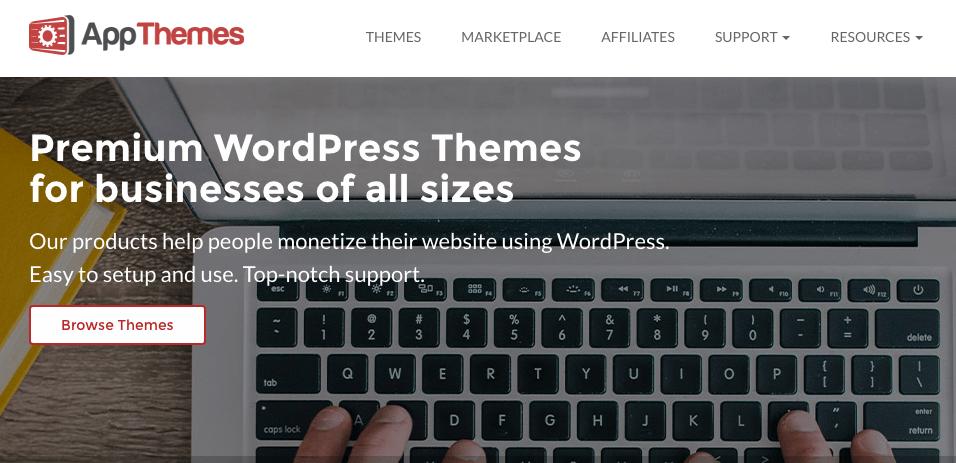 Marketplaces para Comprar Temas e Plugins WordPress - App Themes