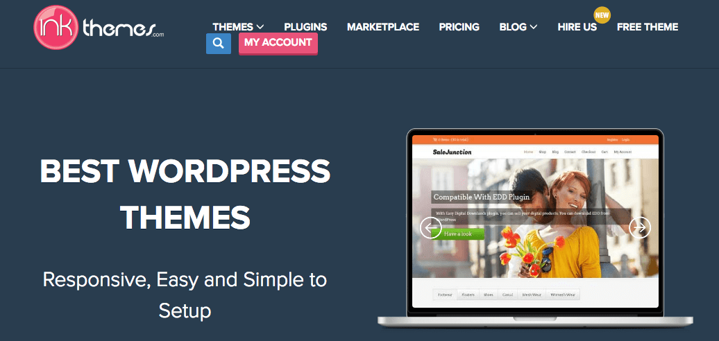 Marketplaces para Comprar Temas e Plugins WordPress - Ink Themes