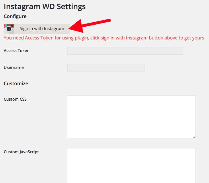 Plugin Instagram - Primeiros Passos