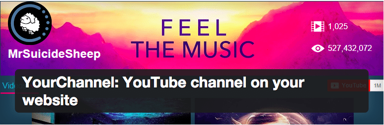 Canal do Youtube no WordPress - Plugin YourChannel