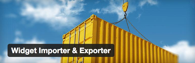 Como Importar e Exportar Widget no WordPress - Plugin Widget Importer & Exporter
