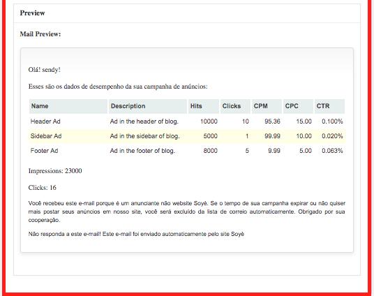 Gerenciando Anuncios de Forma Profissional - Configuracoes - Aba Mailer 3