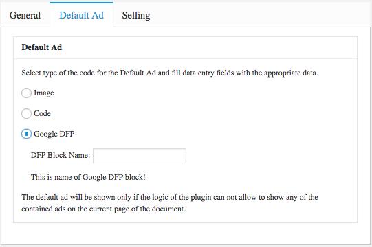 Gerenciando Anuncios de Forma Profissional - Places ou Locais - Default Ad com Google DFP