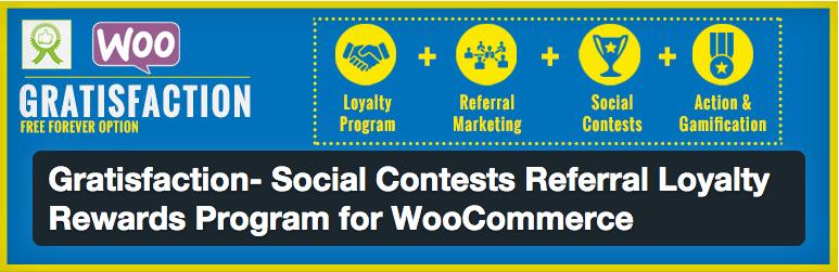 Programa de Fidelidade e Concurso Social - Plugin Gratisfaction