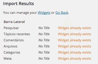 Como-Importar-e-Exportar-Widget-no-WordPress-Importação-concluída-com-Widget-Importer-Exporter