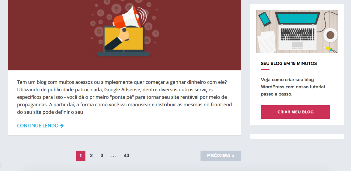 Como Fixar (Sticky) Widgets com o Plugin Q2W3 no WordPress - Demonstracao de Widget Fixo