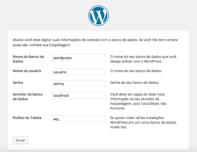 Como Editar o arquivo wp-config.php no WordPress - Instalacao do WordPress e Geracao do wp-config