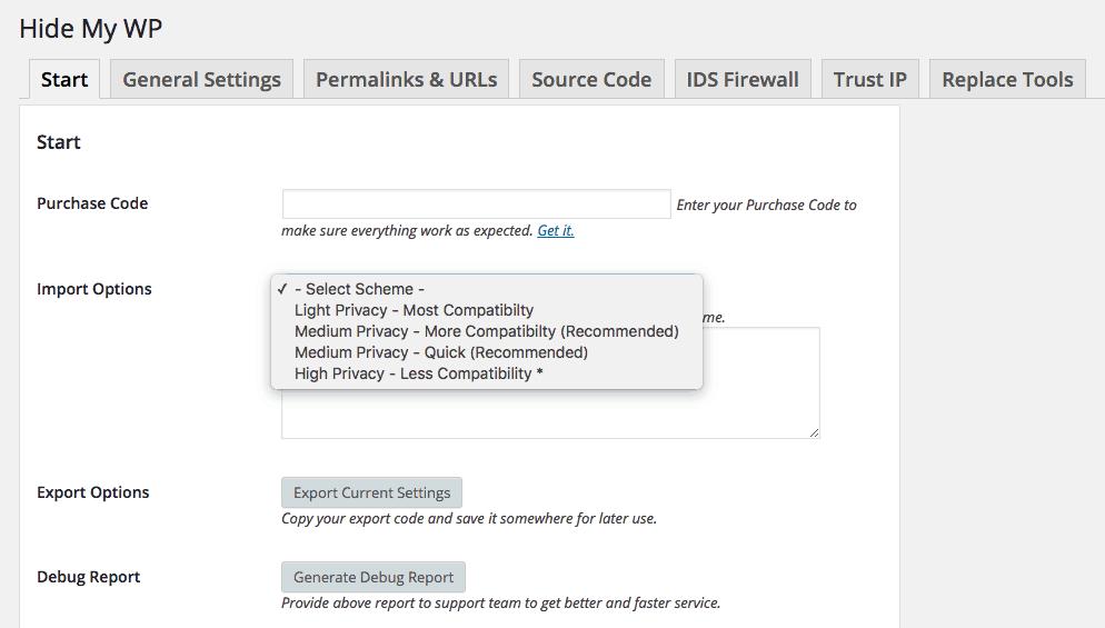 Segurança-com-Hide-My-WP-Configurações-Start