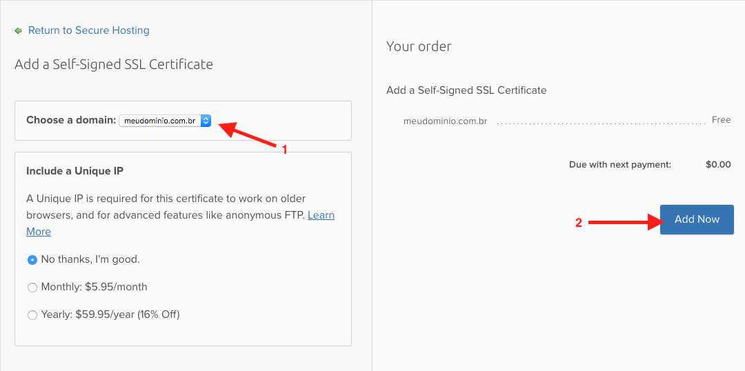 como-instalar-ssl-godaddy-na-dreamhost-para-wordpress-selecione-o-dominio-para-certificado-ssl