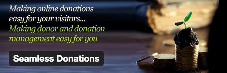 10 Plugins Para Sistema de Doacoes no WordPress - Seamless Donations
