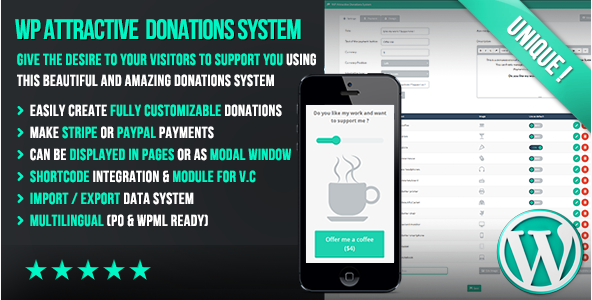 10 Plugins Para Sistema de Doacoes no WordPress - WP Attractive Donations System