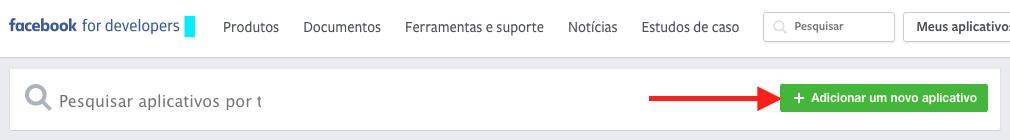 Como Exibir Eventos do Facebook no WordPress Criar Novo Facebook App