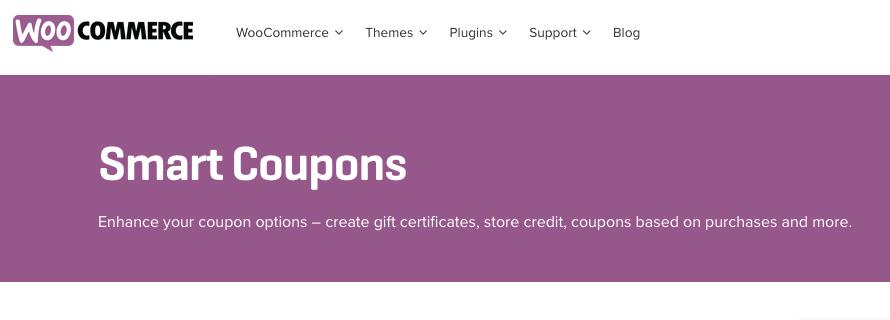 10 Otimos Plugins para Cupom WooCommerce - Smart Coupons