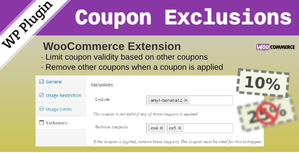 10 Otimos Plugins para Cupom WooCommerce - WooCommerce Coupon Exclusions