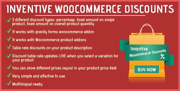 10 Plugins para Gerenciar e Oferecer Descontos no WooCommerce Inventive WooCommerce Discounts