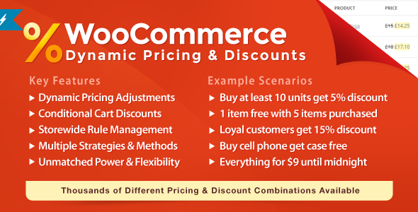 10 Plugins para Gerenciar e Oferecer Descontos no WooCommerce - WooCommerce Dynamic Pricing & Discounts