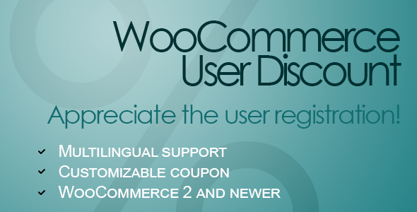 10 Plugins para Gerenciar e Oferecer Descontos no WooCommerce - WooCommerce User Discount