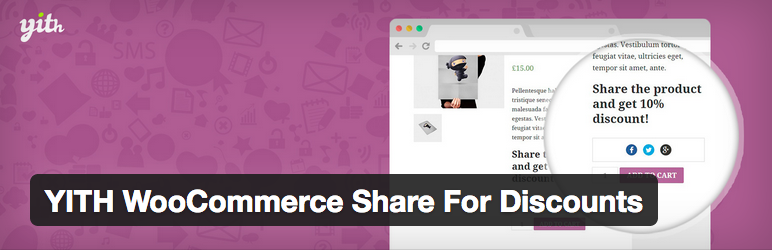 10 Plugins para Gerenciar e Oferecer Descontos no WooCommerce - YITH WooCommerce Share For Discounts