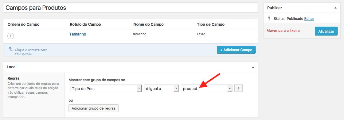 Aprenda A Utilizar Custom Fields No WooCommerce - Campo Personalizado para Produtos