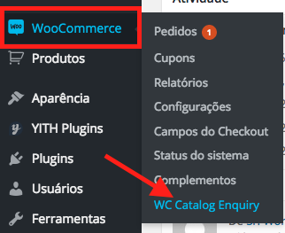 Como Criar Loja Catalogo WooCommerce - Acessando Pagina de Configuracoes