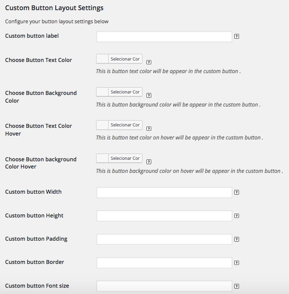 Como Criar Loja Catalogo WooCommerce - Custom Button Layout Settings
