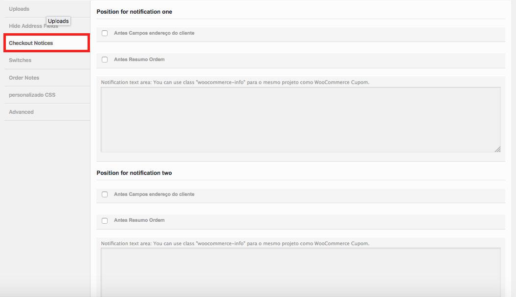 Como Gerenciar Pagina de Checkout WooCommerce - Configuracao para Checkout Notices