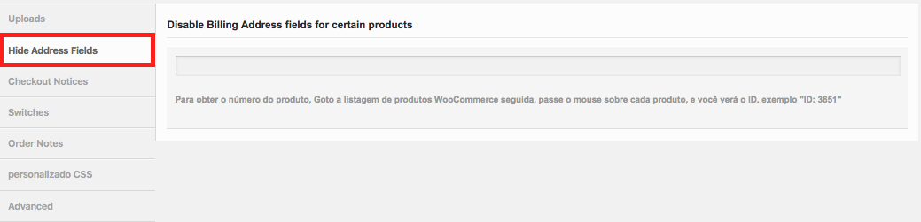 Como Gerenciar Pagina de Checkout WooCommerce - Configuracao para Ocultar Campos de Endereco