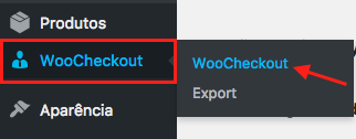 Como Gerenciar Pagina de Checkout WooCommerce - Menu WooCheckout