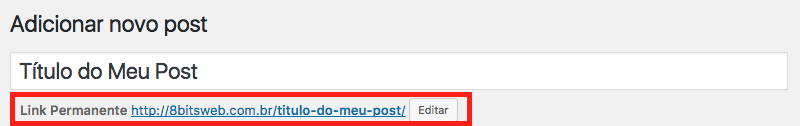 Como Impedir Titulos Duplicados no WordPress - Exemplo de Post com Titulo e URL Unicos
