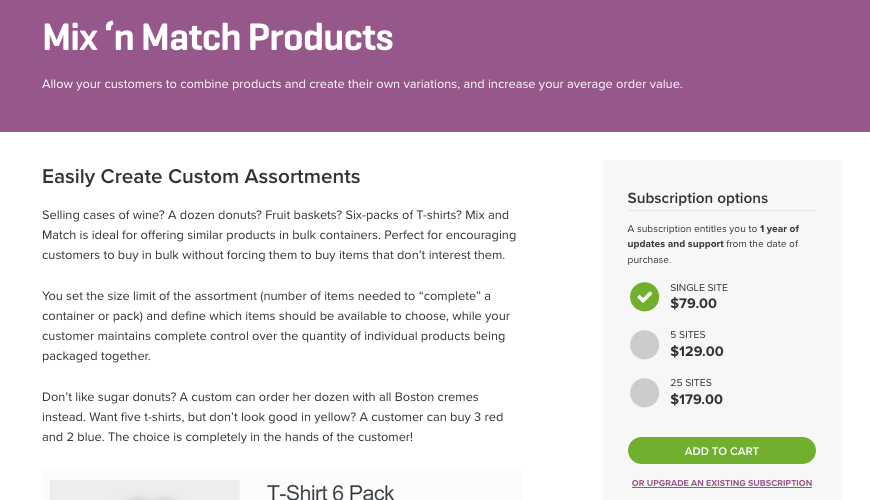 Como Vender Produtos Misturados e Combinados no WooCommerce - Plugin Mix'n Match Products