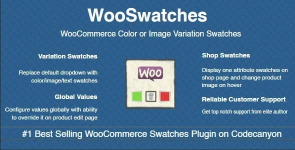 WooSwatches - Cores e Imagens para Variacoes WooCommerce