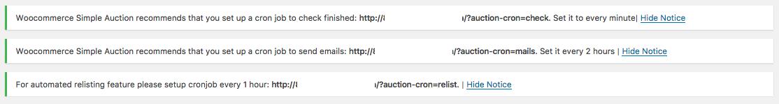 Como Ter Um Sistema de Arremates no WooCommerce - Notificacoes sobre Cronjob