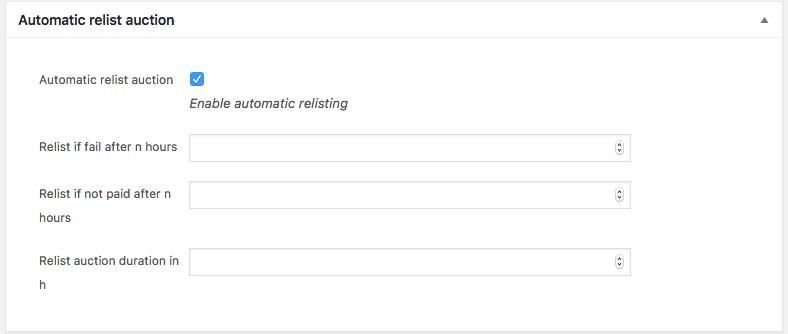 Como Ter Um Sistema de Arremates no WooCommerce - Recadastro automatico de produto para leilao