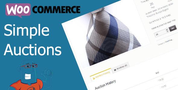 Como Ter Um Sistema de Arremates no WooCommerce - WooCommerce Simple Auctions