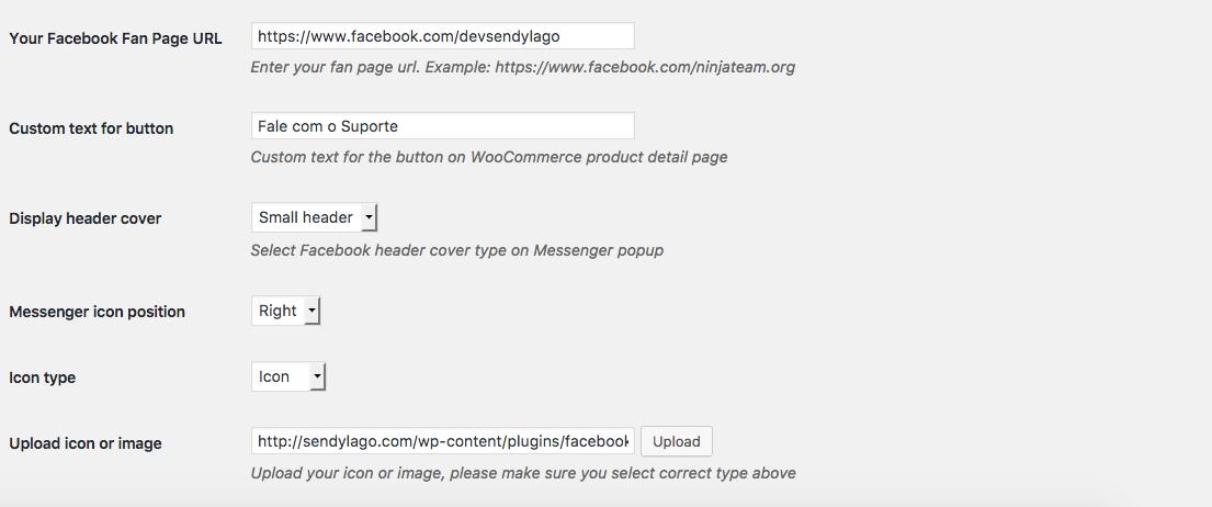 Como Usar Facebook Messenger Pro Para WordPress - Parte 1 das Configuracoes