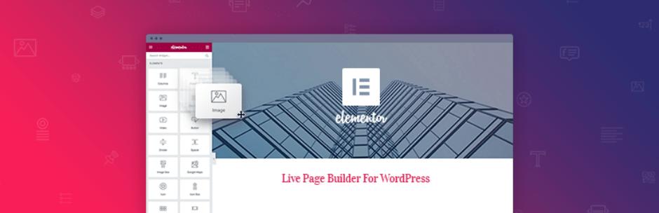 Plugins Para Criar Landing Pages no WordPress - Elementor Page Builder