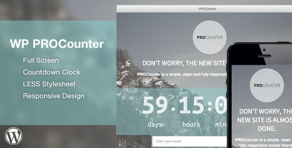 Plugins Para Criar Landing Pages no WordPress - WP Countie Responsive Countdown Landing Page