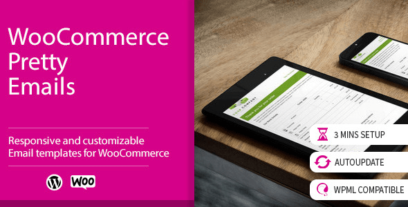 Plugins Para Customizar E-mails WooCommerce - WooCommerce Pretty Emails
