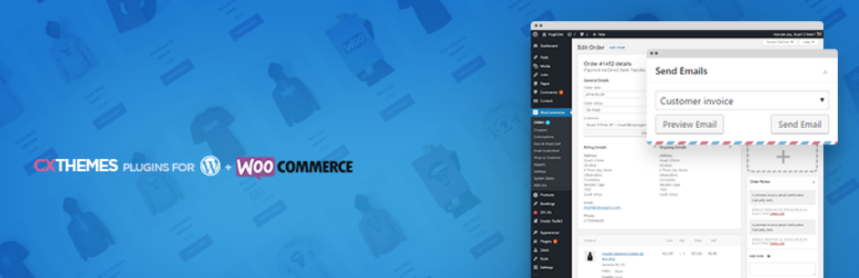 Plugins Para Customizar E-mails WooCommerce - WooCommerce Send Emails