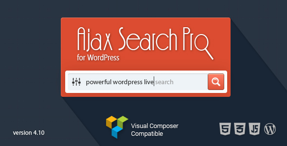 10 Plugins Infaliveis Para Busca WordPress - Ajax Search Pro