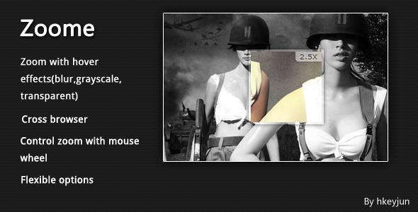 10 Plugins Para Zoom e Galeria de Imagens WordPress - Zoome jQuery Image Zoom Effect
