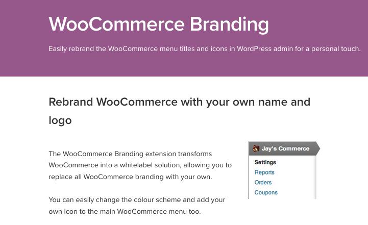 Como Renomear Titulos WooCommerce Da Sua Loja - WooCommerce Branding