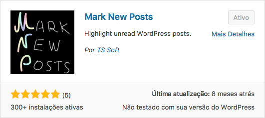 Aprenda A Sinalizar Posts Novos No WordPress - Plugin Mark New Posts