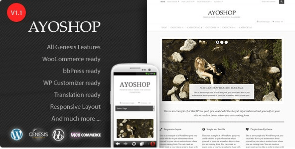 10 Temas WooCommerce Para Vender Livros - AyoShop