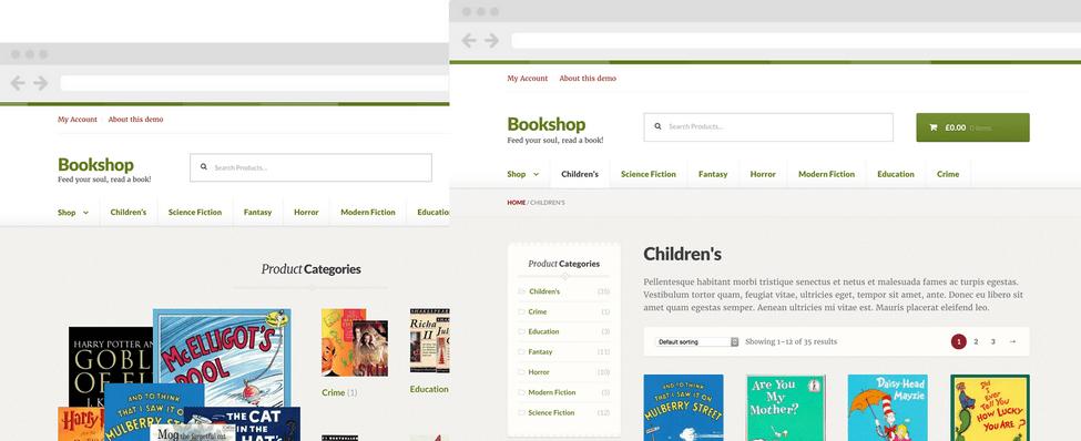 10 Temas WooCommerce Para Vender Livros - Bookshop