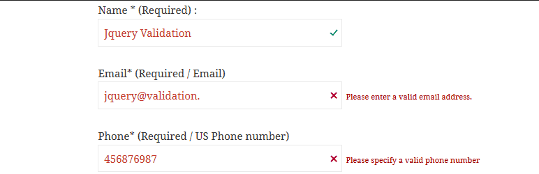 Como Adicionar Validacao Para Formulario Contact Form 7 - Jquery Validation For Contact Form 7
