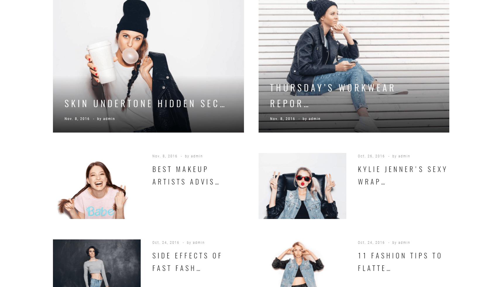 Glossy Look Tema WordPress
