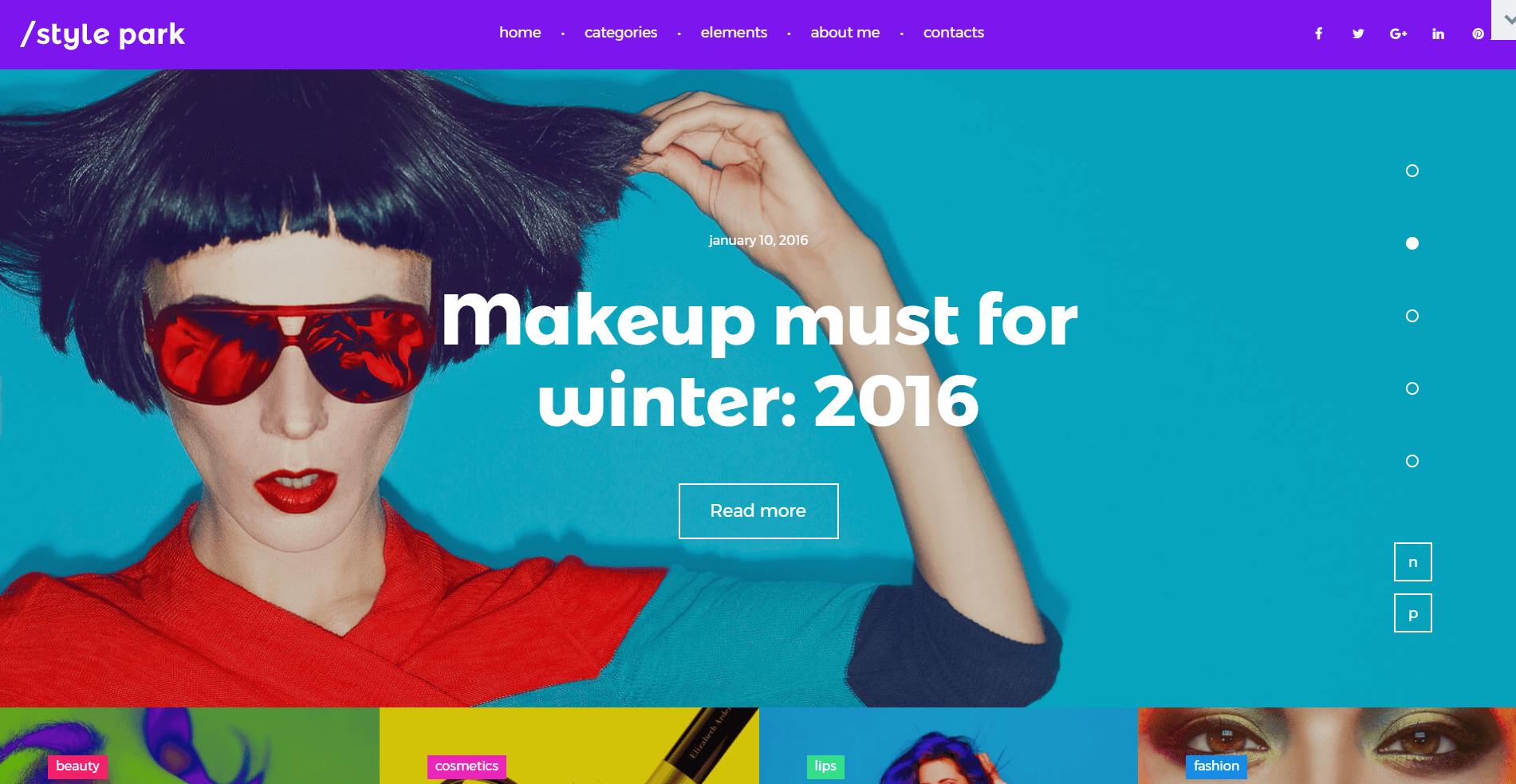 StylePark-Blog de Moda Moderno